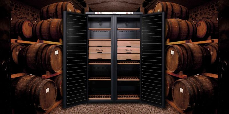 Temptech Connoisseur vinskap